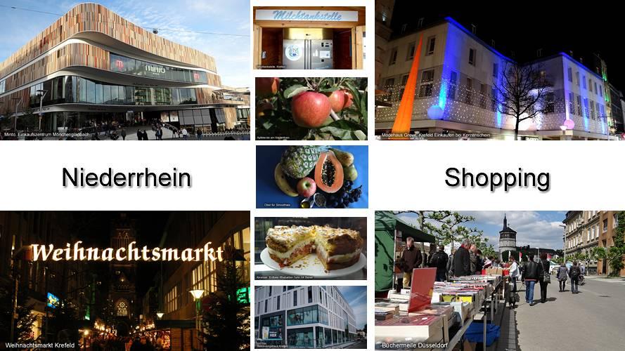 Einkaufen am Niederrhein