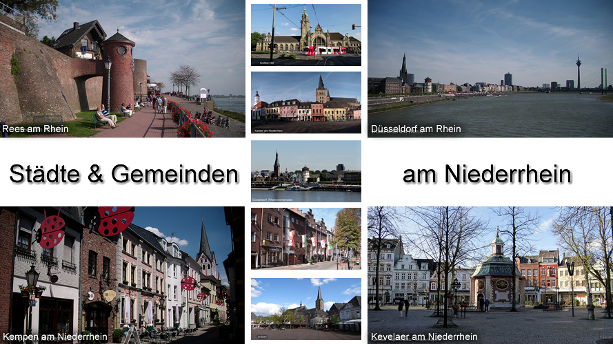 Niederrhein Städte