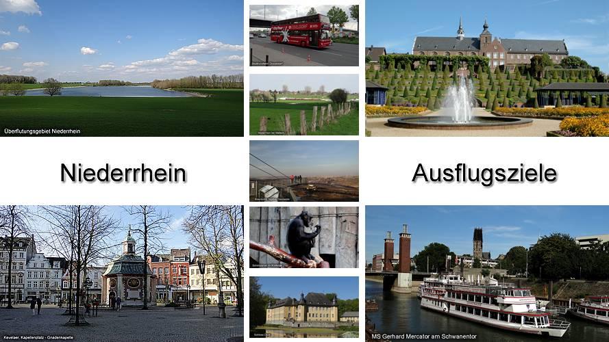 Niederrhein Ausflugsziele