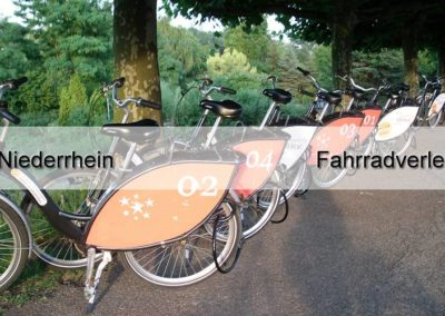 Niederrhein Fahrradverleih