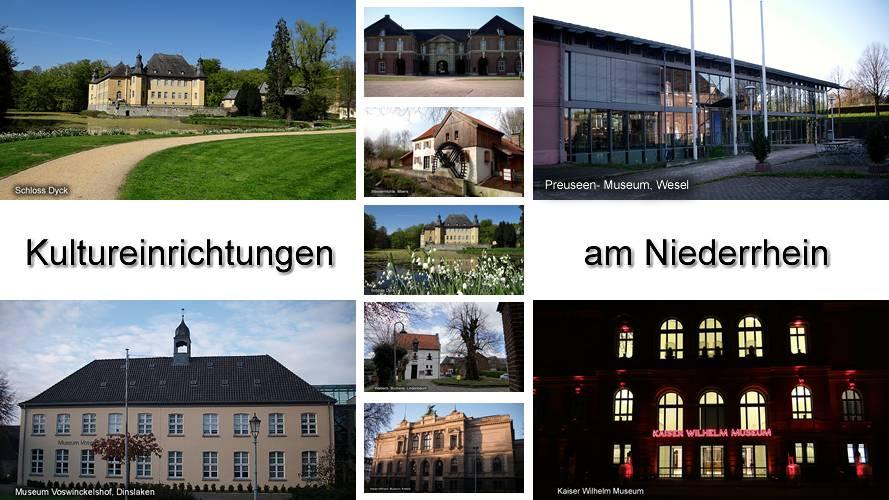 Niederrhein Kultureinrichtungen