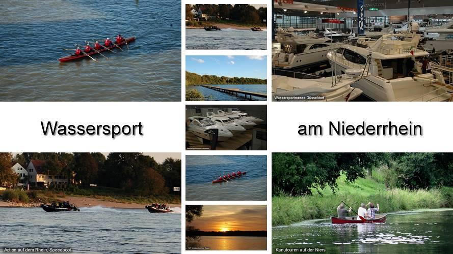 Niederrhein Wassersport