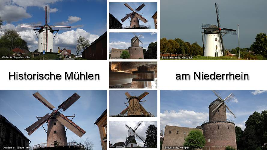 Historische Mühlen