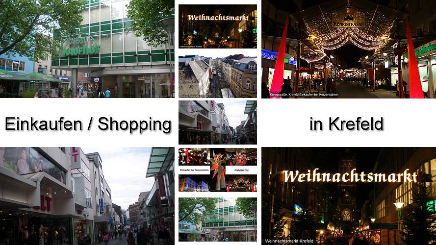 Shopping Krefeld