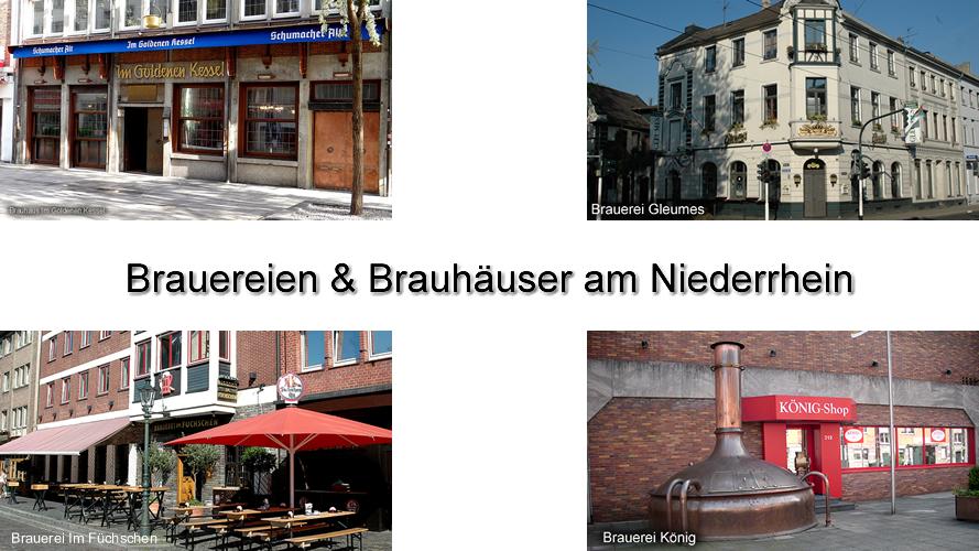Brauereien am Niederrhein