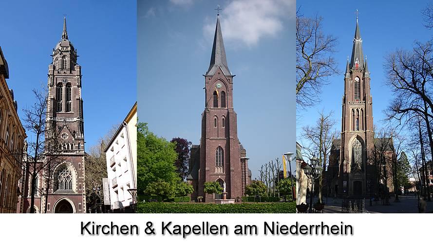 Kirchen und Kapellen am Niederrhein