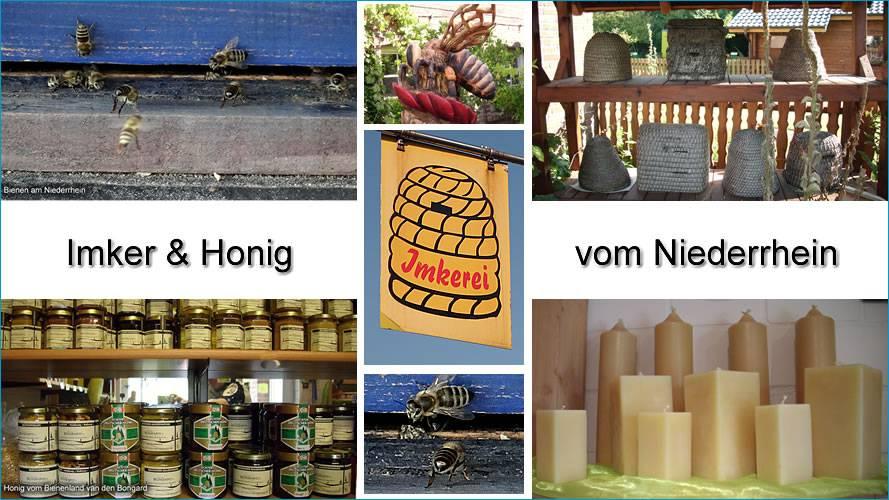 Imkereien und Honig am Niederrhein