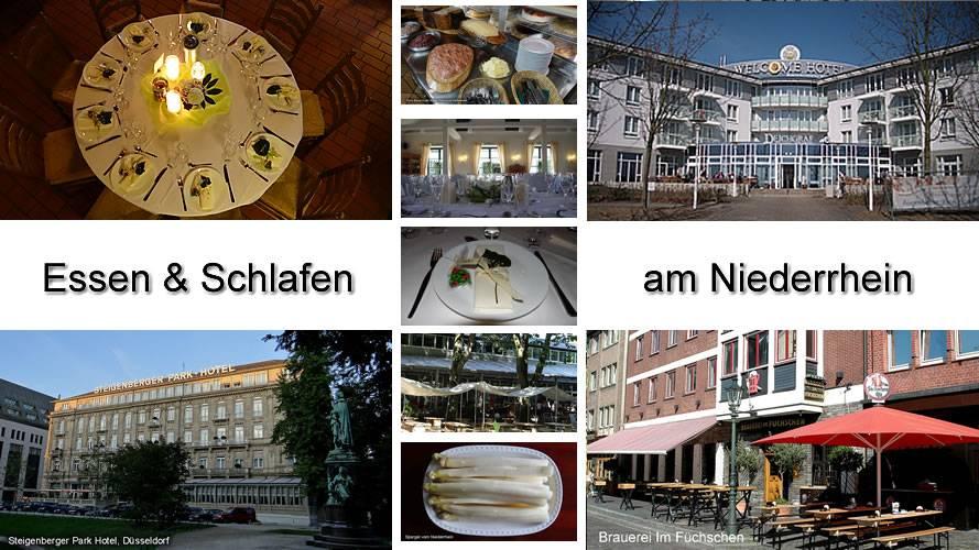 Niederrhein Essen Trinken Schlafen