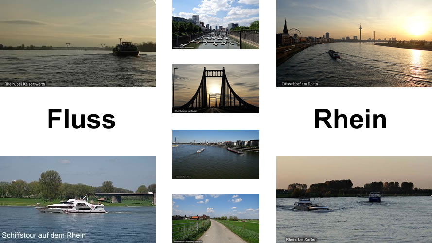 Fluss Rhein