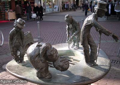 Geldern Bronzestatue