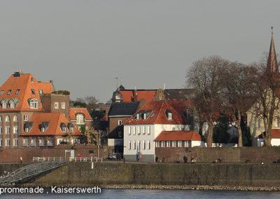 Kaiserswerth Rheinpromenade
