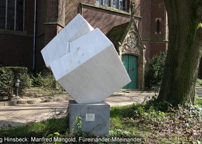 Hinsbeck Kunstweg Füreinander