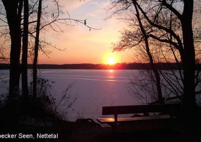 Nettetal Krickenbeck Sonnenuntergang