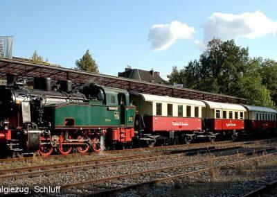 Nostalgieeisenbahn Schluff