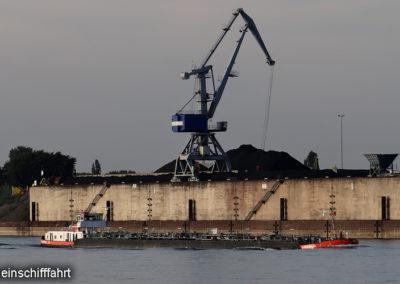 Rheinschifffahrt Duisburg Hafen