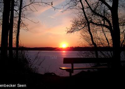 Sonnenuntergang Krickenbeck