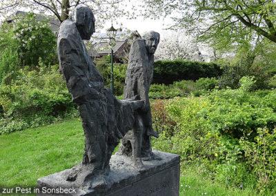 Sonsbeck Pest Denkmal