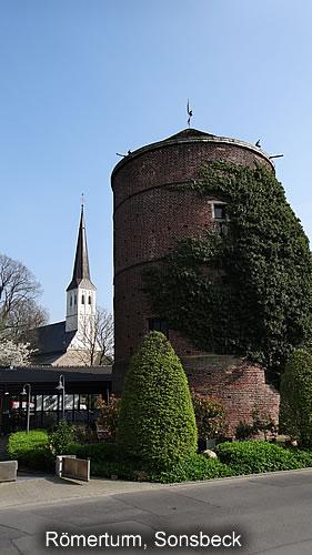 Sonsbeck Römerturm