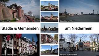 Städte Niederrhein