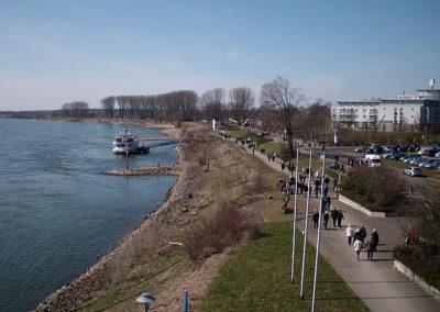 Wesel Rheinpromenade