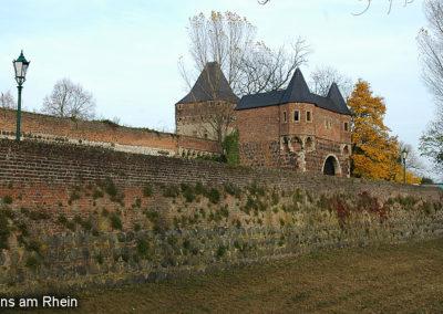 Zons Stadtmauer