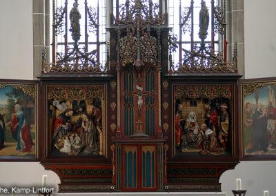 Kloster Kamp Altar