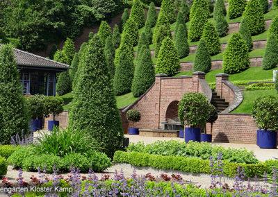 Terrasengarten Kloster Kamp