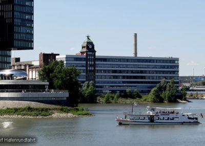 Düsseldorf Hafenrundfahrt Medienhafen
