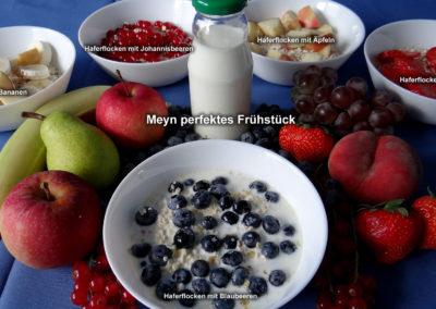 Perfektes Frühstück