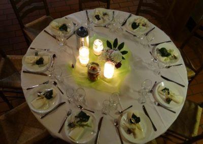 Tischgedeck Hochzeit