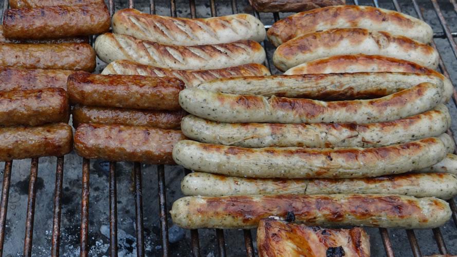 Grillen Bratwurst