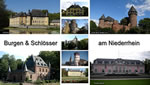Schloesser Burgen Niederrhein